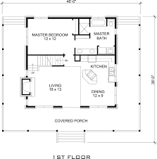 Small 3 Bedroom Cabin Plans Cabin Style House Plan 3 Beds 2 Baths 1479 Sq Ft Plan 140 121