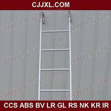stainless steel wall mounting marine vertical ladder
