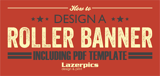 banner design template how to design a roller banner pull up banner inc template
