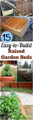easy diy raised garden bed garden beds