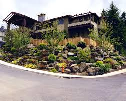 Low Maintenance Shrubs And Hillside Landscaping Ideas The Garden Pics Photos Hillside Landscape Maintenance