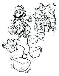 Super Mario Bros Da Colorare Fredrotgans