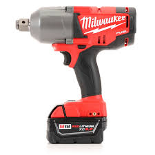 milwaukee m18 logo. milwaukee 2764-22 m18 fuel 18v cordless 3-4 in. high torque impact wrench with friction ring 2 redlithium batteries logo