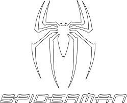Small Picture Superhero Logo Coloring Page Free Printout Within Symbols Pages