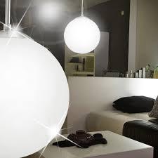 Mia Light Moderne Hängeleuchte In Kugelform Aus Glas Weiß In