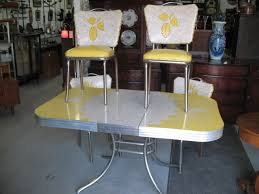Small Picture 1950S Vintage Table And Chairs 1950S CHROME AND FORMICA KITCHEN
