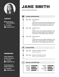 Graphic Resume Template Infographic Resume Template Venngage Graphic Resume Template Best 1