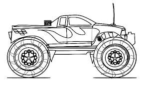Grave Digger Truck Coloring Pages Truck Coloring Games Monster Jam