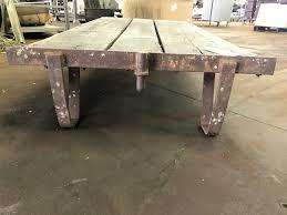 home storage carts 1900 s wooden factory cart w original wheels
