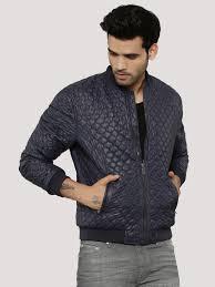 Buy Blackberrys Urban Navy Quilted Jacket For Men Online In