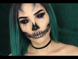 11 17 glam glitter skull makeup tutorial