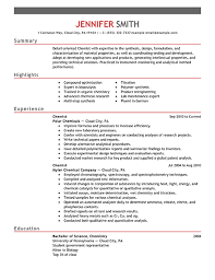 chemistry resumes amazing chemist resume skills ideas simple resume office