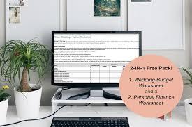Personal Finance Budget Worksheets Budget Worksheet Sign Up The Asian Mrs Blanding