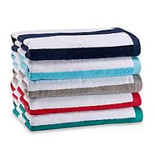 Beach towels Hooded Wamsutta Heavyweight Resort Stripe Beach Towel Bed Bath Beyond Large Striped Beach Towels And Beach Umbrellas Bed Bath Beyond