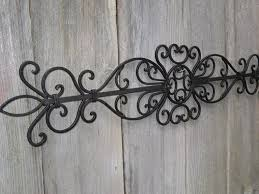 wrought iron wall decor ideas