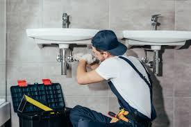 easiest way to vent bathroom plumbing