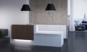 Lavish Reception Desk Design