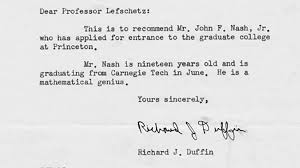 Will A Recommendation Letter Such As That Written For John F