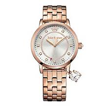 watches for women ladies watches debenhams juicy couture ladies rose gold plated stainless steel bracelet sliver dial