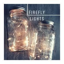 Wedding Decor With Mason Jars Mason jar light Centerpiece Lights Country Wedding Rustic 75