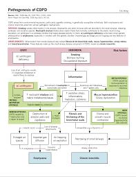 Pathophysiology Of Copd Flow Chart Diagram