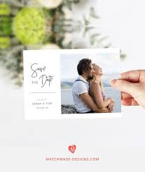 Make Your Own Photo Save The Date With This Easy To Use
