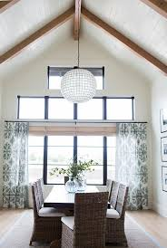 restoration hardware capiz shell pendant beautiful dining room features a restoration hardware