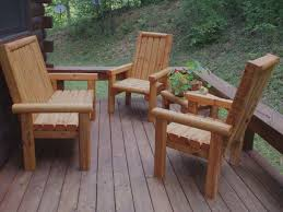 rustic outdoor table and chairs. WNC Rustic Outdoor Furniture Table And Chairs