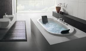 image of modern types of bathtubs