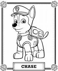 Small Picture Paw Patrol Coloring Pages Coloring Home