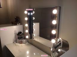 dressing table mirror with lights ikea