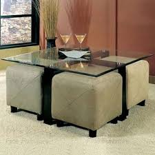 ... Coffee Table, Coffee Table With Ottoman Seating: Cozy Coffee Table With  Ottoman Seating Ideas ...