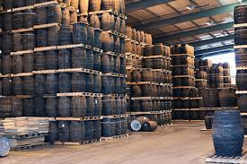 stacked oak barrels maturing red wine. Made Of American White Oak (and Very Occasionally European Oak) The Standard Barrel Is Most Common Type And Size Stacked Barrels Maturing Red Wine
