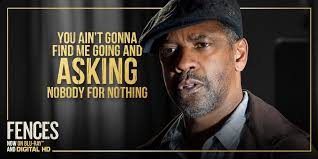 Fences Quotes Fascinating Fences Movie On Twitter Don't Let Pride Get In Your Way See