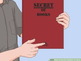 Publisher Photo Books 4 Ways To Find The Publisher Of A Book Wikihow