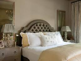 interior design bedroom traditional. Traditional Bedroom With Green Tufted Headboard Interior Design