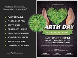 Earth Day V3 Flyerheroes