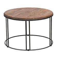 coffee table round wood coffee table