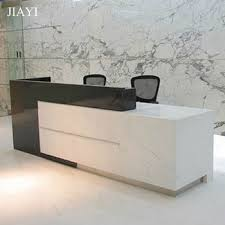 Modern office front counter design and office reception counter