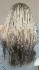 Blonde Reverse Ombre Reverseombre Blondetobrown Blondetoblack