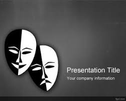 Movie Powerpoint Template Free Film And Theater Powerpoint Templates Powerpoint Templates