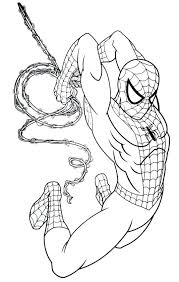 Spiderman Color Pages Amazing Coloring Pages Book And Page S Stuff