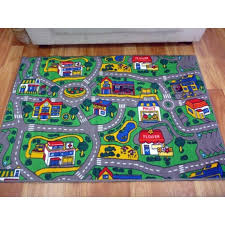 road rugs kids city streets car activity play mats 92x1 33m 1x1 5m 1 33