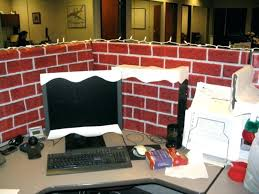 decorating an office cubicle. Lovely Office Cubicle Decor Decoration Ideas For Terrific Cool Layout Superb Themes Cute . Decorating An \
