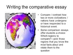 writing the comparative essay ppt video online  writing the comparative essay