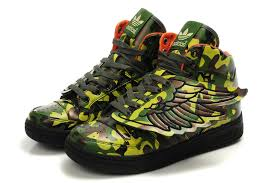 adidas shoes high tops wings. fashion jeremy scott x adidas originals js wings camo high tops shoes p