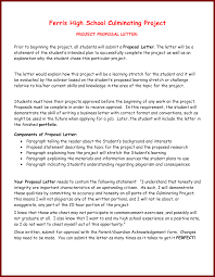 16 Student Project Proposal Sample Sendletters Info