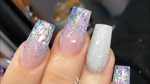 Nail Design Spa Vancouver Wa Complete Acrylic Redesign With Bubble Nail Design Prep And Filing Included
