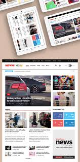 Newspaper Website Template Free Download News Website Home Page Template Free Psd Download Psd