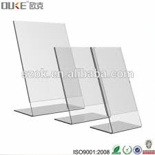 Plastic A4 Display Stands